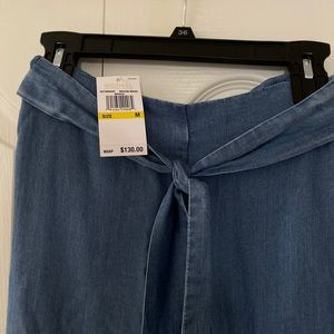 Michael Korda medium indigo jeans